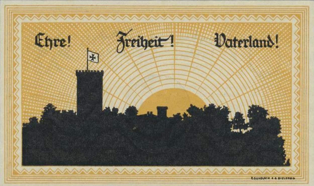 Billet de banque - Jungdeutsche Orden
