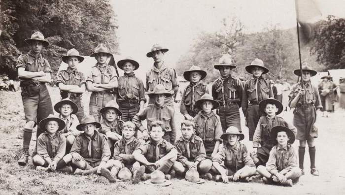 Baden-Powell_Scoutime vers 1910