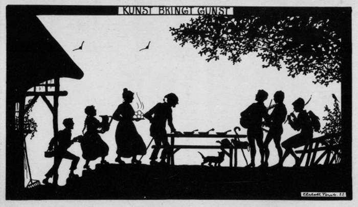 Forck, Elsbeth, Kunst bringt Gunst, Reihe XXI, Vom Wandern