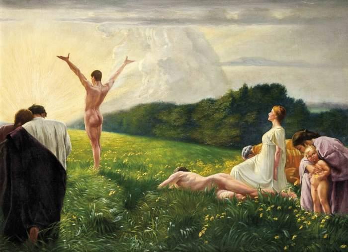 Ludwig Fahrenkrog (1867-1952) - Heilige Stunden