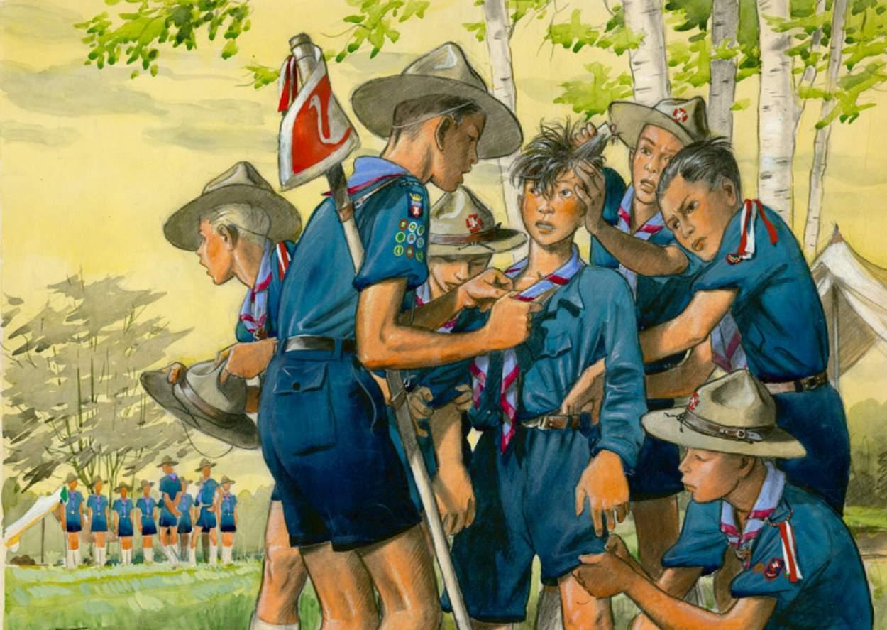 Scoutisme - Pierre Joubert