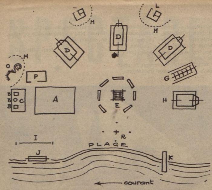 1937_07_29_Regards_LES JOIES DU CAMPING par Jean Loiseau_Schema-n-1