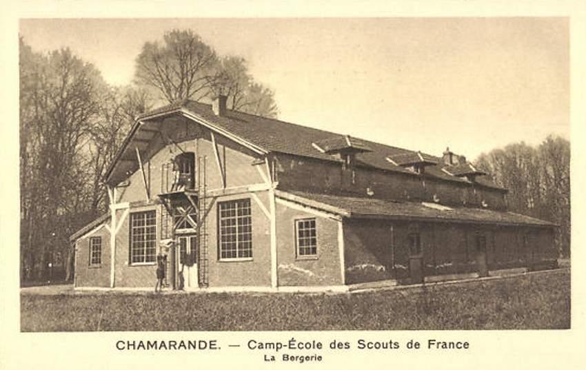 Chamarande - Camp-école des scouts de France - La Bergerie