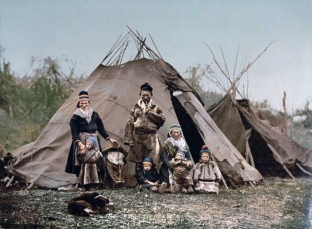Famille Saami - Kohte-Jurte