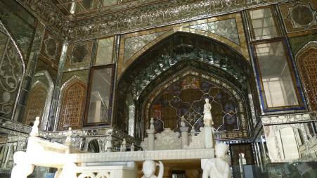 Golestan Palace throne, Teheran