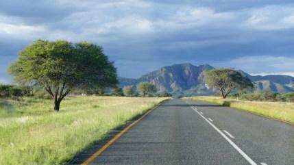 Approaching Windhoek