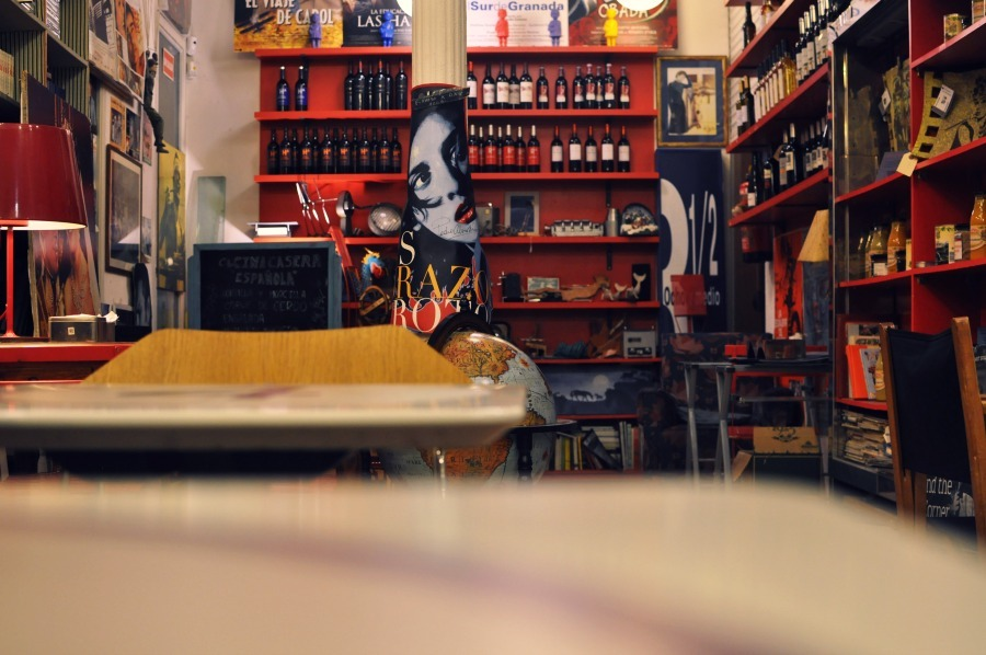 5 Quirky Cafe Workspace in Madrid