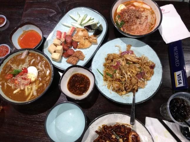 malaysian cuisine at malaysian foot street