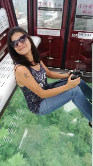 glass bottom gondola at resorts world genting