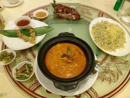 Stewed Prawn in Nyonya Style Curry