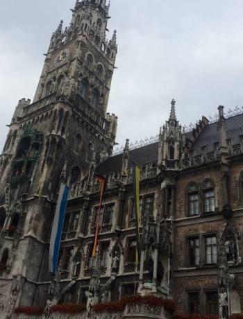 Marienplatz Munich with Contiki
