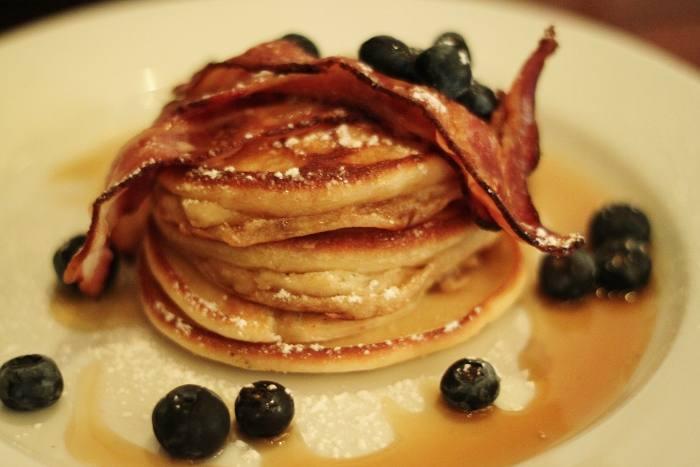 the brunch club pancakes