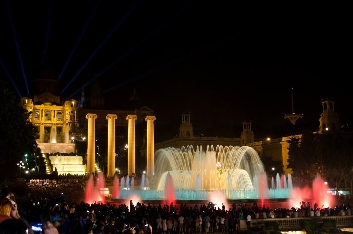 Barcelona New Year 2015