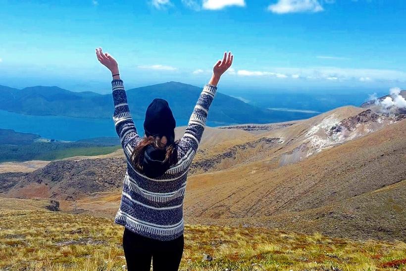 Tongariro Crossing travel blog
