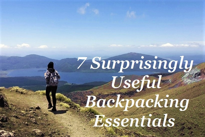 surprisingly useful backpacking essentials