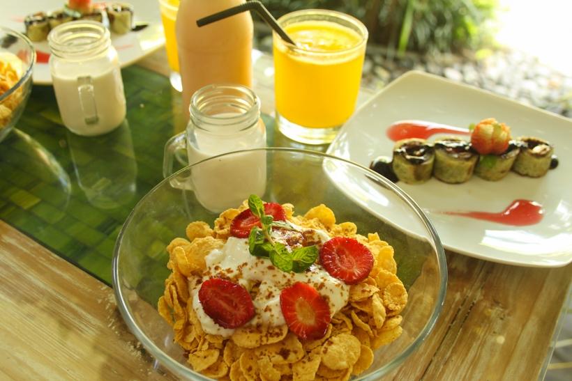 Breakfast at The Moskha Ubud