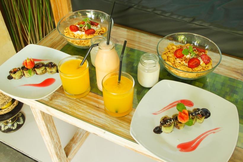 The Moskha breakfast