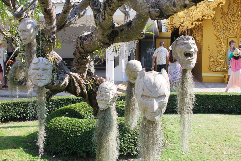 White Temple Heads