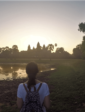 Lake in Angkor Wat