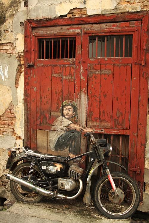 Old Motorcycle Georgetown