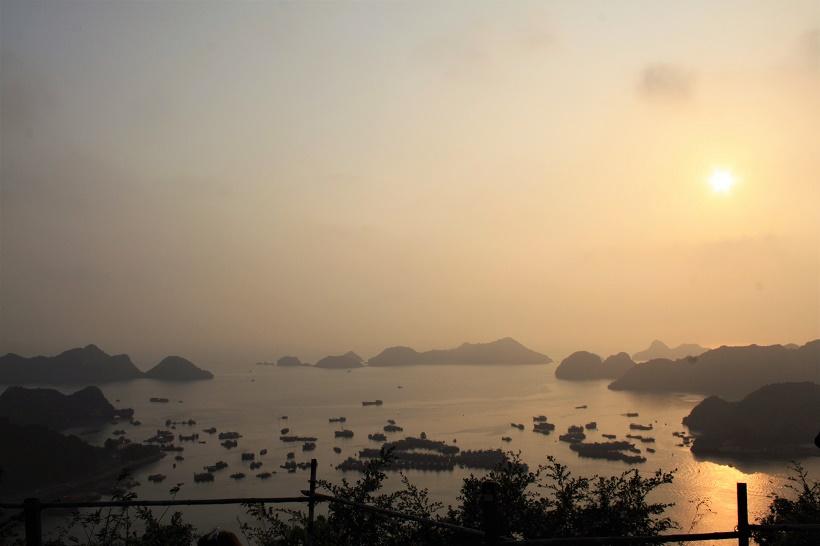 Cat Ba Island sunset