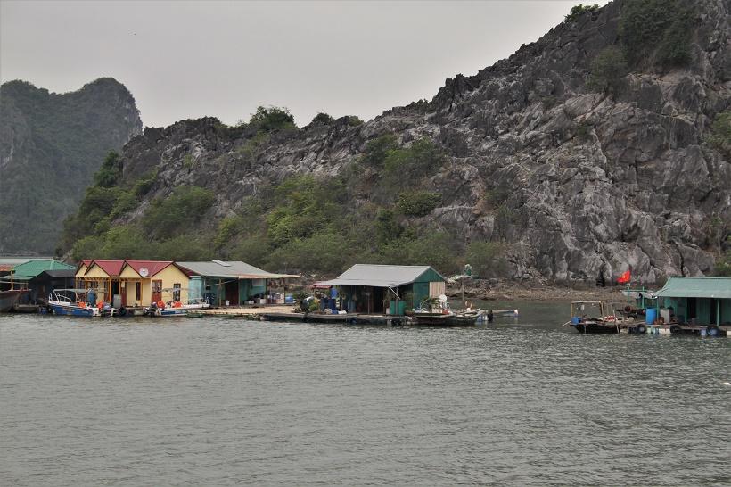 Ha Long Bay village