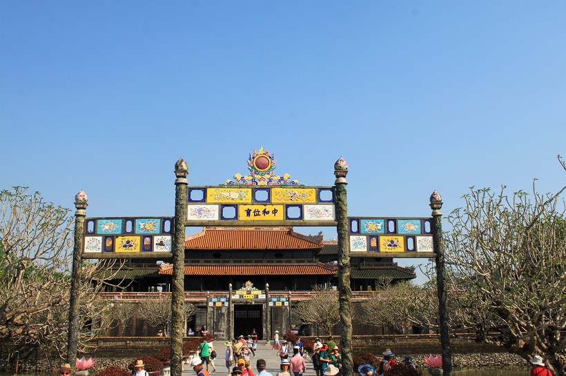 Imperial City Gate Hue