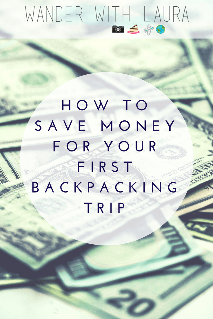 How to Save for your First Backpacking Adventure | Wander with Laura