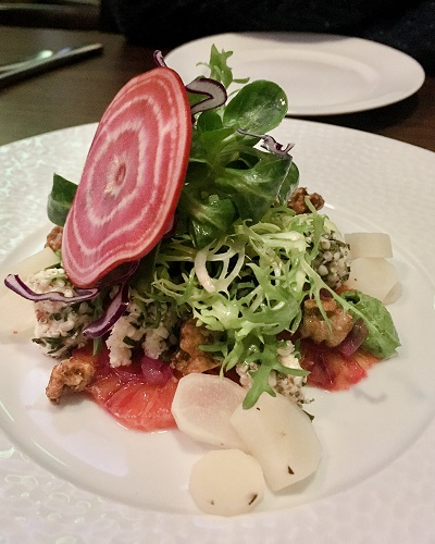 Lucky Leek Berlin starter salad