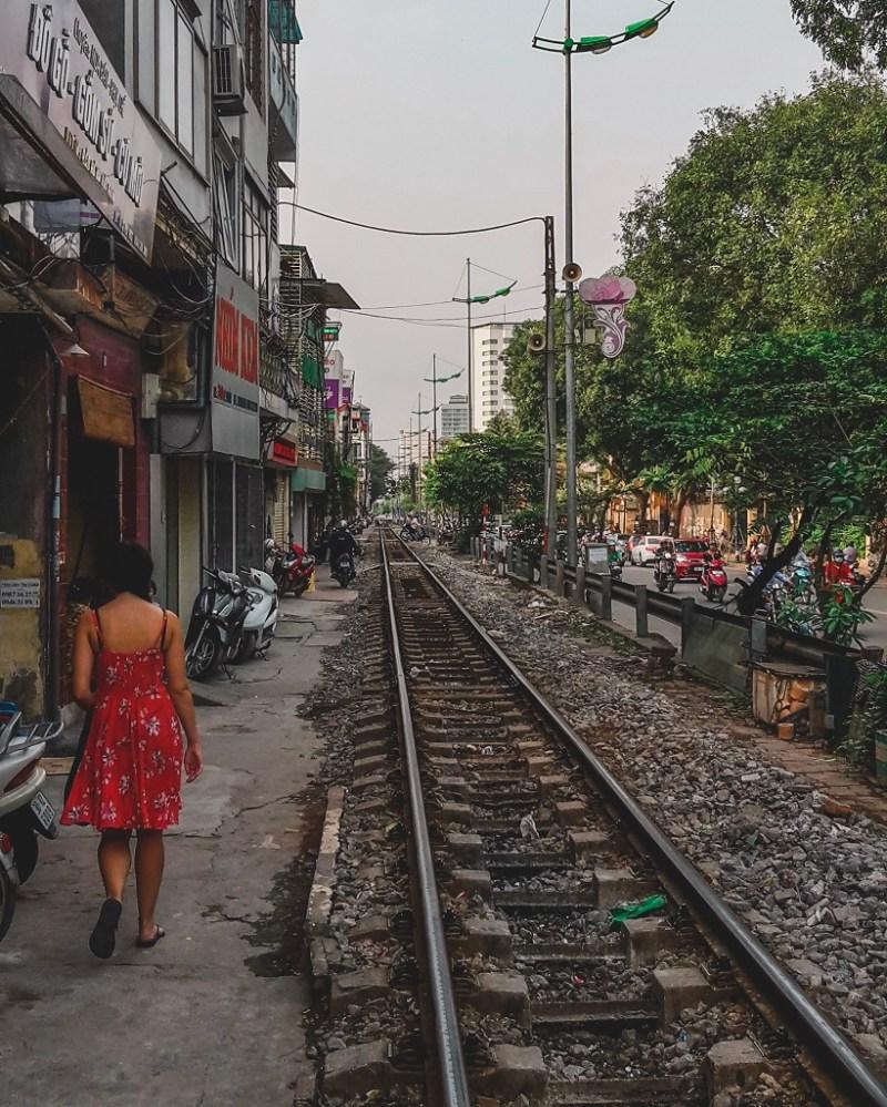 Vietnam railway Hanoi
