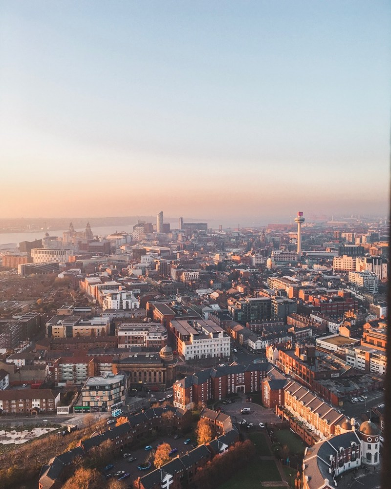 View from Liverpool Cathedral