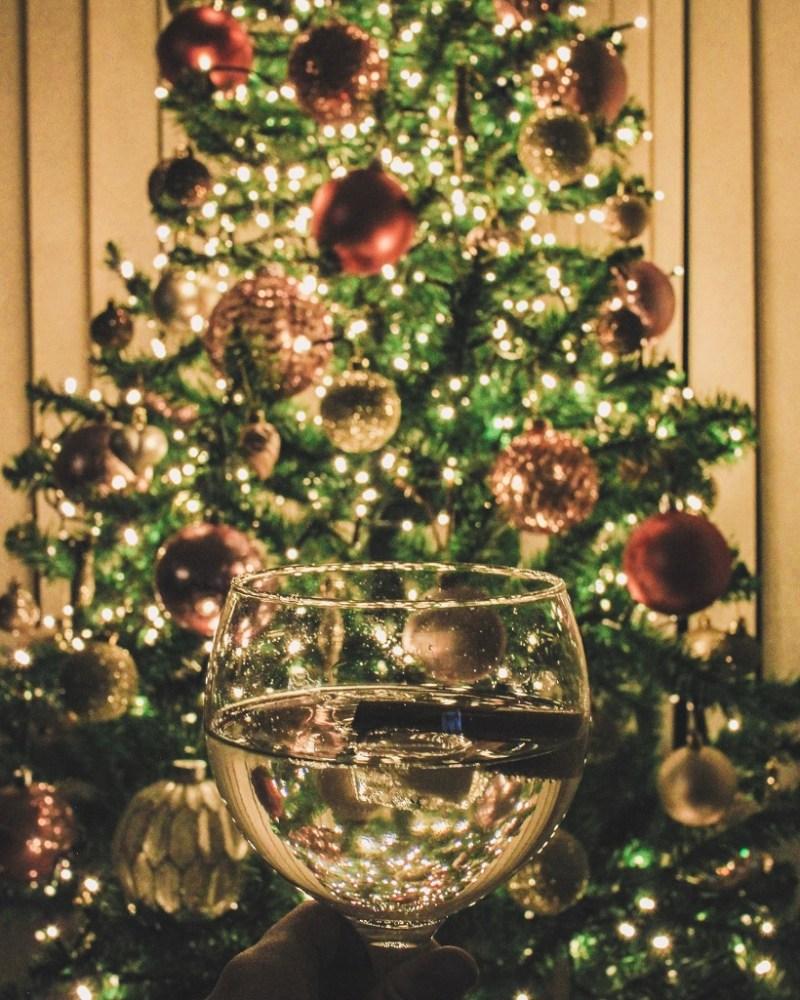 Christmas gin