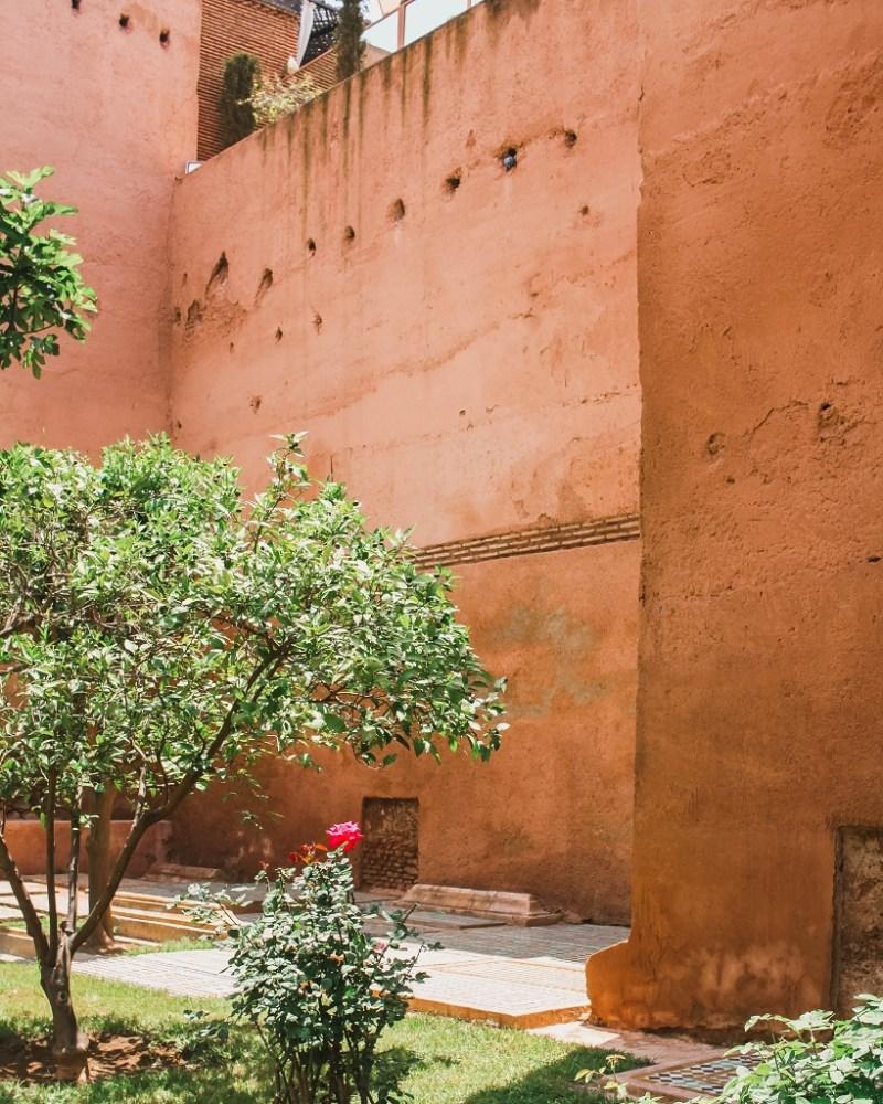 Saadian Tombs garden