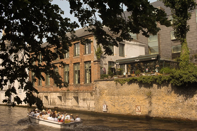 Bruges canals on city break itinerary