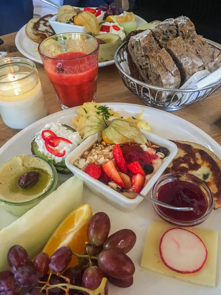 Paludan Bog & Cafe brunch