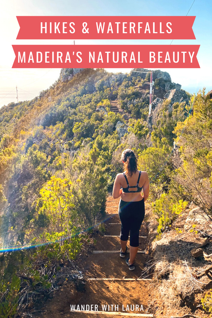 Hikes and waterfalls in Madeira