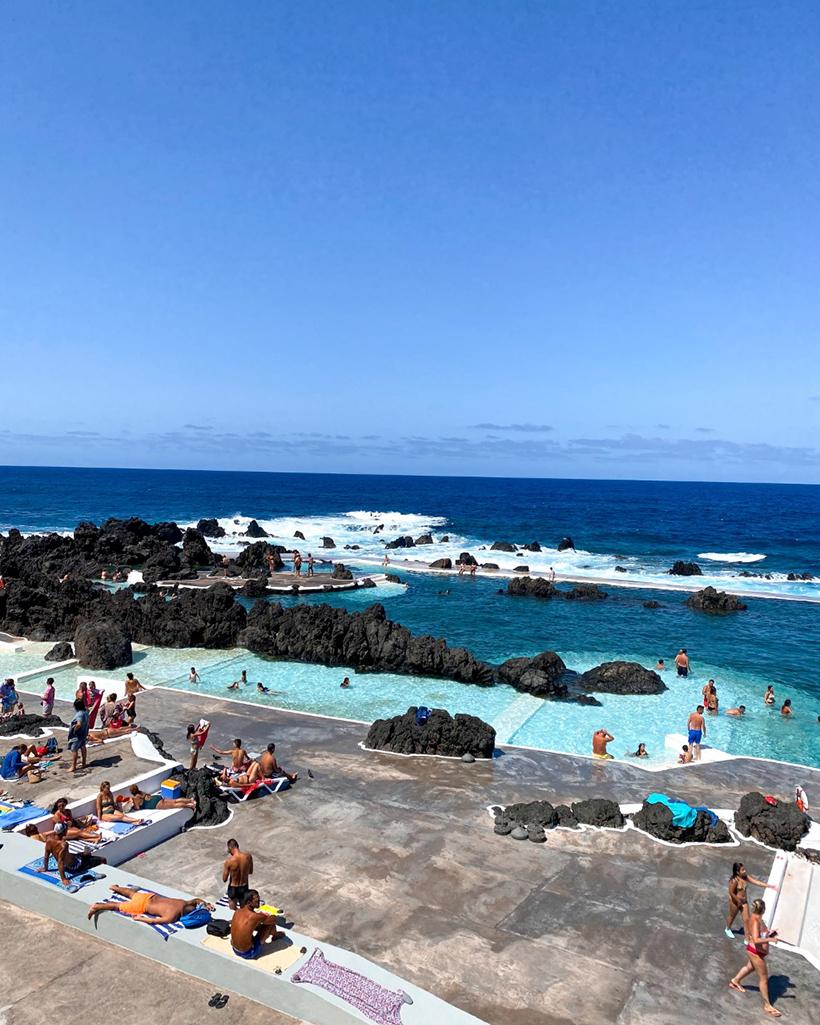 Porto Moniz pools