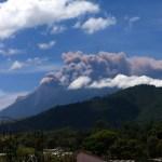 Eruption in Antigua