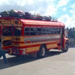 Chicken Bus! Guatemala