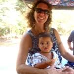 Sol and I on a tuk tuk