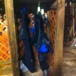 My dive locker in Roatan