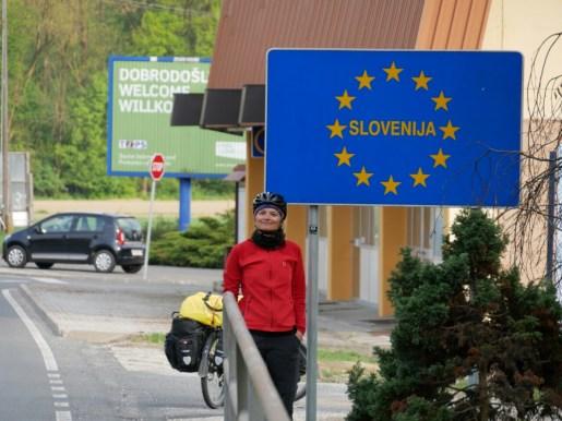 Endlich mal die Chance Slowenien kennenzulernen - leider nur für ca. 40 km.