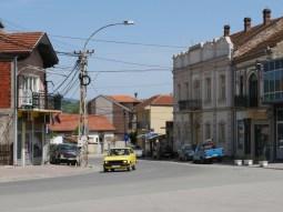 Ein Dorf in Serbien.