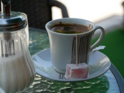Türkischer Kaffee in Serbien.