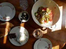 Bohemian Mittagessen im bohemian home Plovdiv.