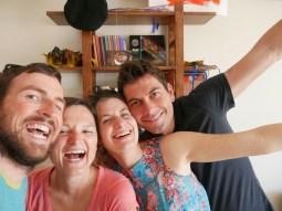 Ibrahim, Marion, Antonia und Daniel