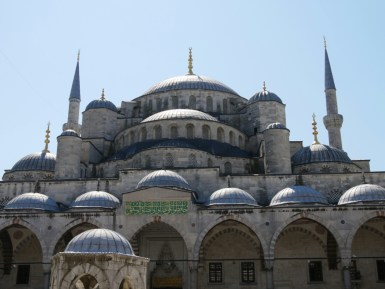 Istanbul - die blaue Moschee.
