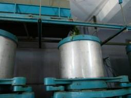 Wir besichtigen eine kleine Teefabrik.
