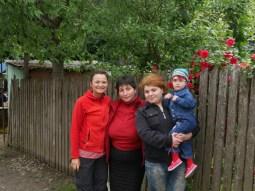 Antonia, Leyla, Ia und Babi.