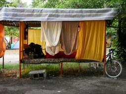 First Camping Site in Iran.// Unser erster Zeltplatz im Iran.